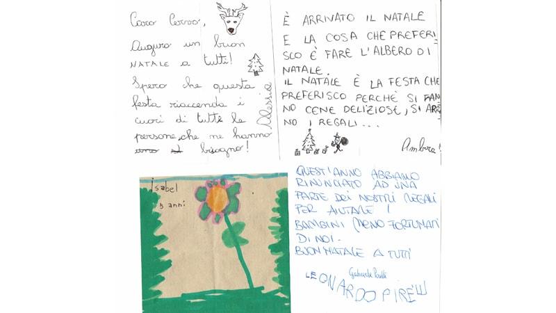 Ristorante Il Cervo Agazzano - Pensieri Albero di Natale 2017