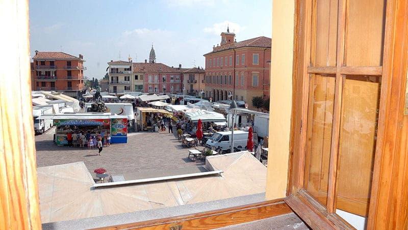 Vista - Hotel a Piacenza - Albergo Il Cervo