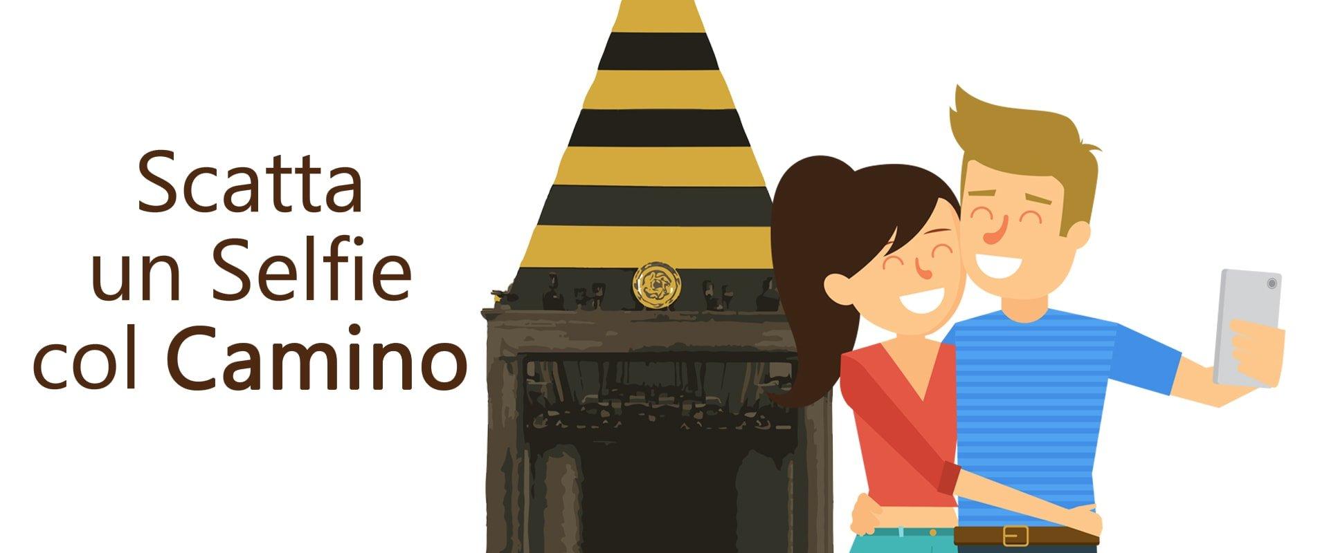 Albergo Ristorante Il Cervo - Selfie col Camino